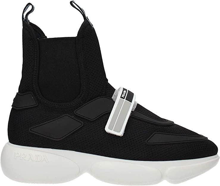 Shoes high top Trainers Sneakers Black