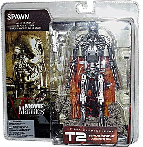 muchas sorpresas McFarlane - Movie Maniacs - - - Series 5 - Terminator 2 (T2)  Judgement Day - T800 Endoskeleton feature film Figura w accessories by Terminator  marcas de moda