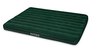 This best camping mattress image shows the Intex Prestige Downy Airbed.