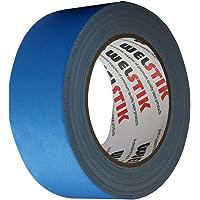 WELSTIK Dunne Gaff Tape 50MM*30.2M Gaffa Tape Matt Doek Tape, Blauw