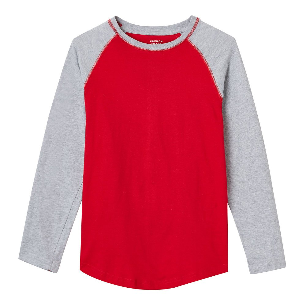 French Toast Boys' Long Sleeve Fashion Tees LA3836