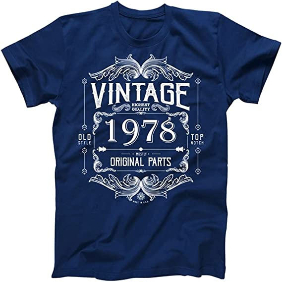 Amazon.com: 40th cumpleaños Vintage 1978 Mostly All Original ...