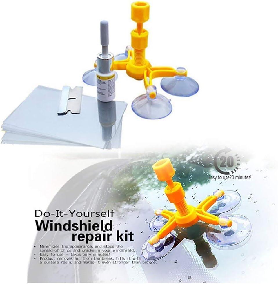 Singmax Fire Windschutzscheiben Reparatur Set Professionelles Windschutzscheiben Reparatur Set Quick Fix Diy Auto Kit Fenster Glas Kratzer Reparatur Kits Für Splitter Und Risse Auto