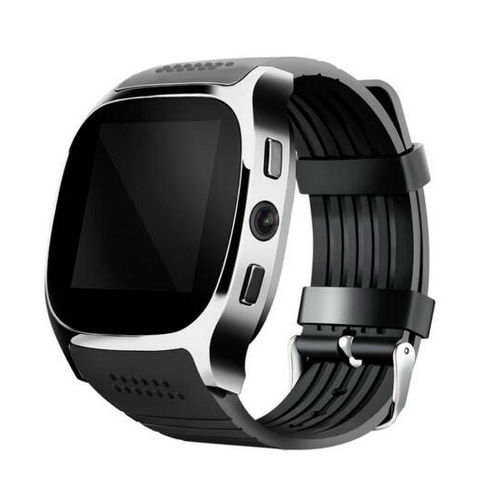 Amazon.com: GUANSHAN Bluetooth Smart Watch With Camera Music ...