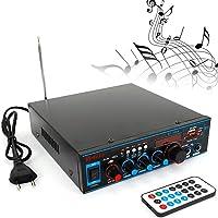 DiLiBee Amplificador de Potencia estéreo de 800 W