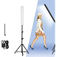 Yesker LED Video Lighting Adjustable Photography Studio Light Kit Dimmable Color 5500K Brightness with Tripod Stand for…