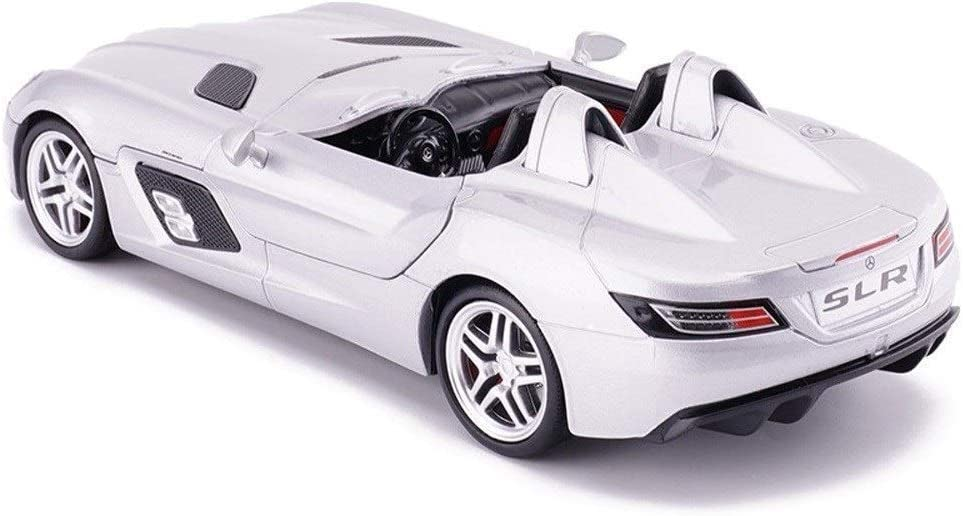 Pkjskh Colección Pkjskh coche de la aleación modelo de coche de juguete 1/24 Simulación Simulación de la puerta de metal Deportes Decoración modelo de coche