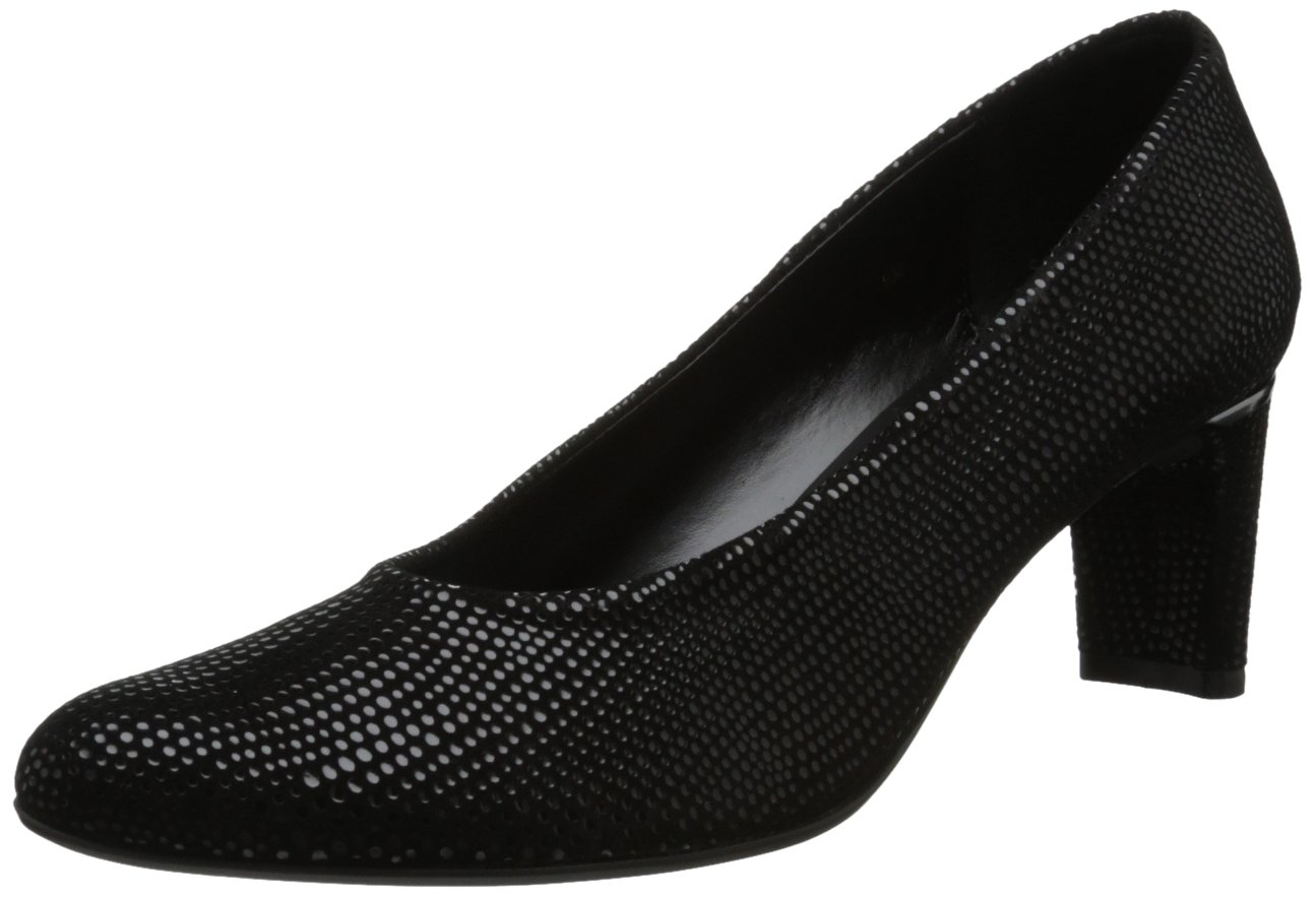 VANELi Women's Dayle Dress Pump B00BQ3EFU6 10 W US|Black E-print