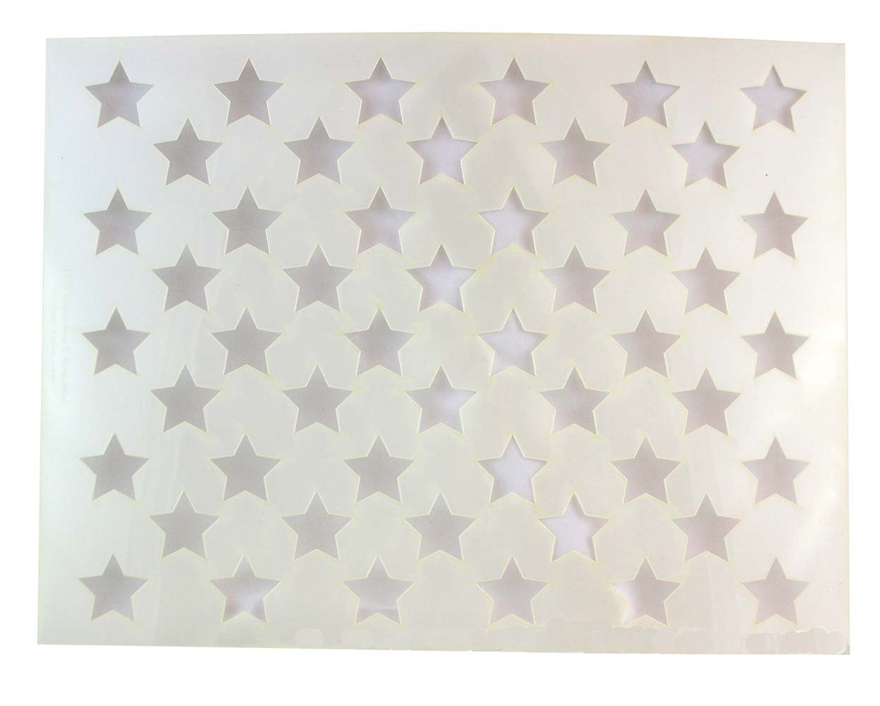 Amazon.com: US 50 Star Field Stencil 14 Mil -17.6\