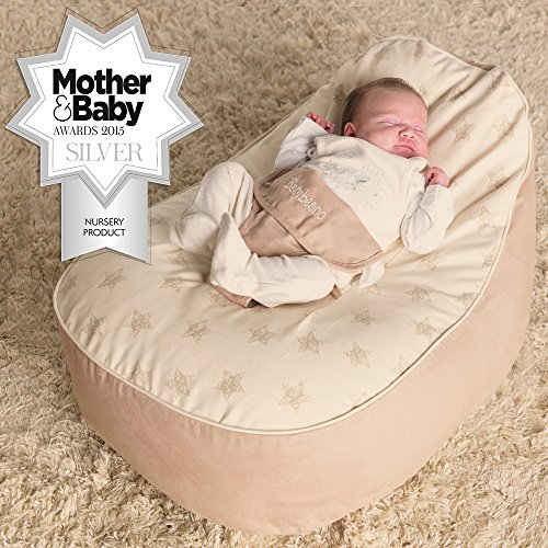 Fabulous Rucomfy Luxury Cuddle Soft Gaga Baby Bean Bag Teal Buy Machost Co Dining Chair Design Ideas Machostcouk