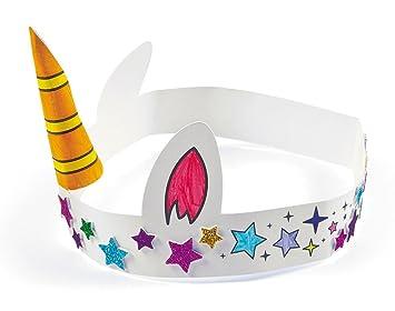 12 Colour Your Own Unicorn Horn Crowns For Kids Kids Unicorn