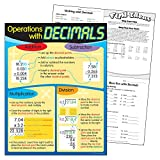 Trend Enterprises Operations with Decimals Learning Chart (1 Piece), 17