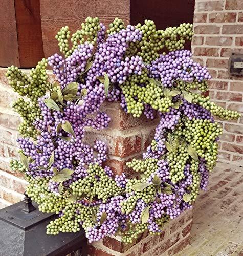 Flora Decor Bountiful Berry Wreath 24