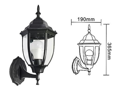 Plafoniere Da Esterno Antiche : Vetrineinrete® lanterna da giardino stile retrò lampada a parete
