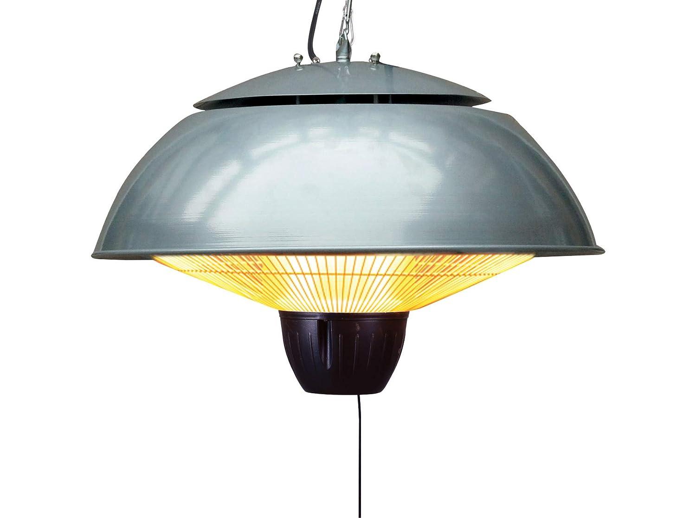 Chauffage Electrique Suspendu 1.5Kw - Firefly (Aluminium argenté) Primrose