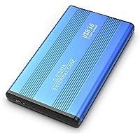 Disco Duro Externo portátil de 2TB - Disco Duro ultradelgado USB 3.0 con Almacenamiento Externo Compatible con Mac, PC…