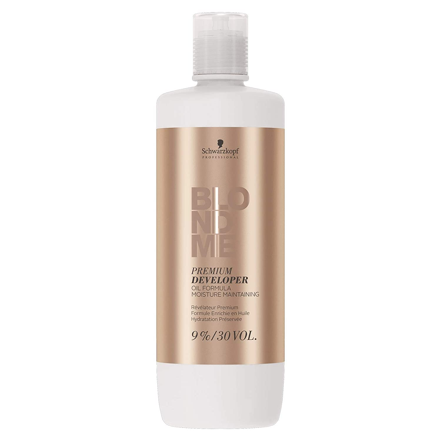Schwarzkopf Professional Blonde Me Premium Developer Oil Formula 33.8 oz/1000ml (9% ; 30 Volume)