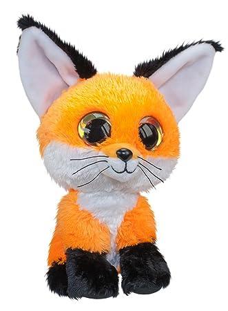 Lumo Stars Fox Repo Animales de Juguete Felpa Negro, Naranja, Blanco - Juguetes de