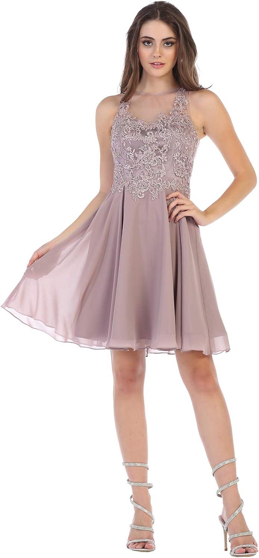 Formal Dress Shops Inc Fds1618 Homecoming Short Designer Dress At Amazon Women S Clothing Store
