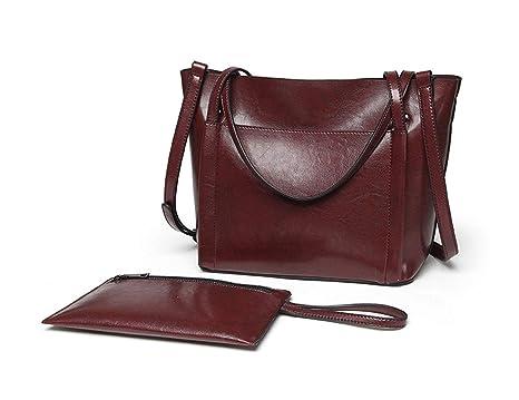DEERWORD Mujer Shoppers y bolsos de hombro Bolsos bandolera Carteras de mano y clutches Jujube