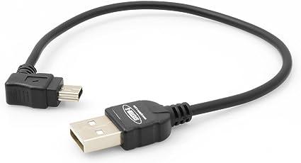 System S Mini Usb Kabel 90 Grad Gewinkelt Winkelstecker Elektronik