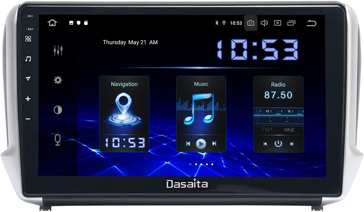 Dasaita Android 10 0 Autoradio Mit Navi Carplay Für Elektronik