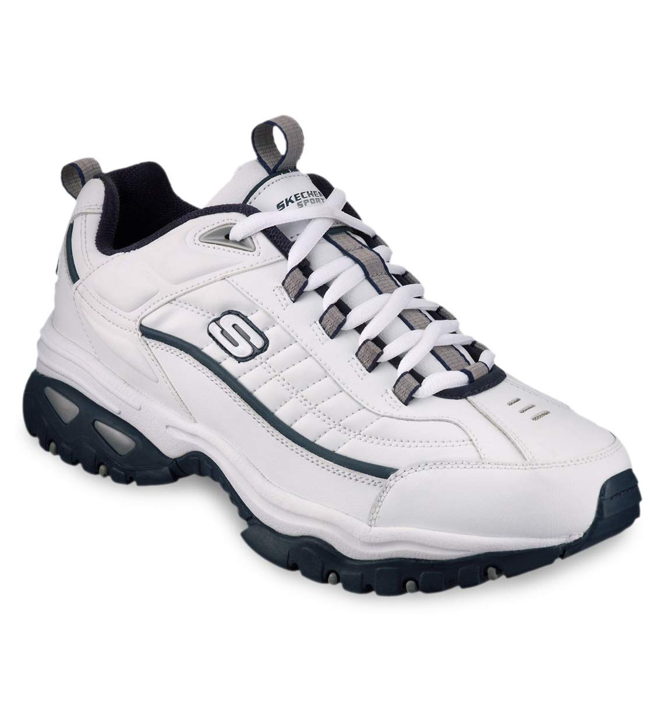 Skechers Energy Sport Sneakers (14 W, White/Navy) by Skechers