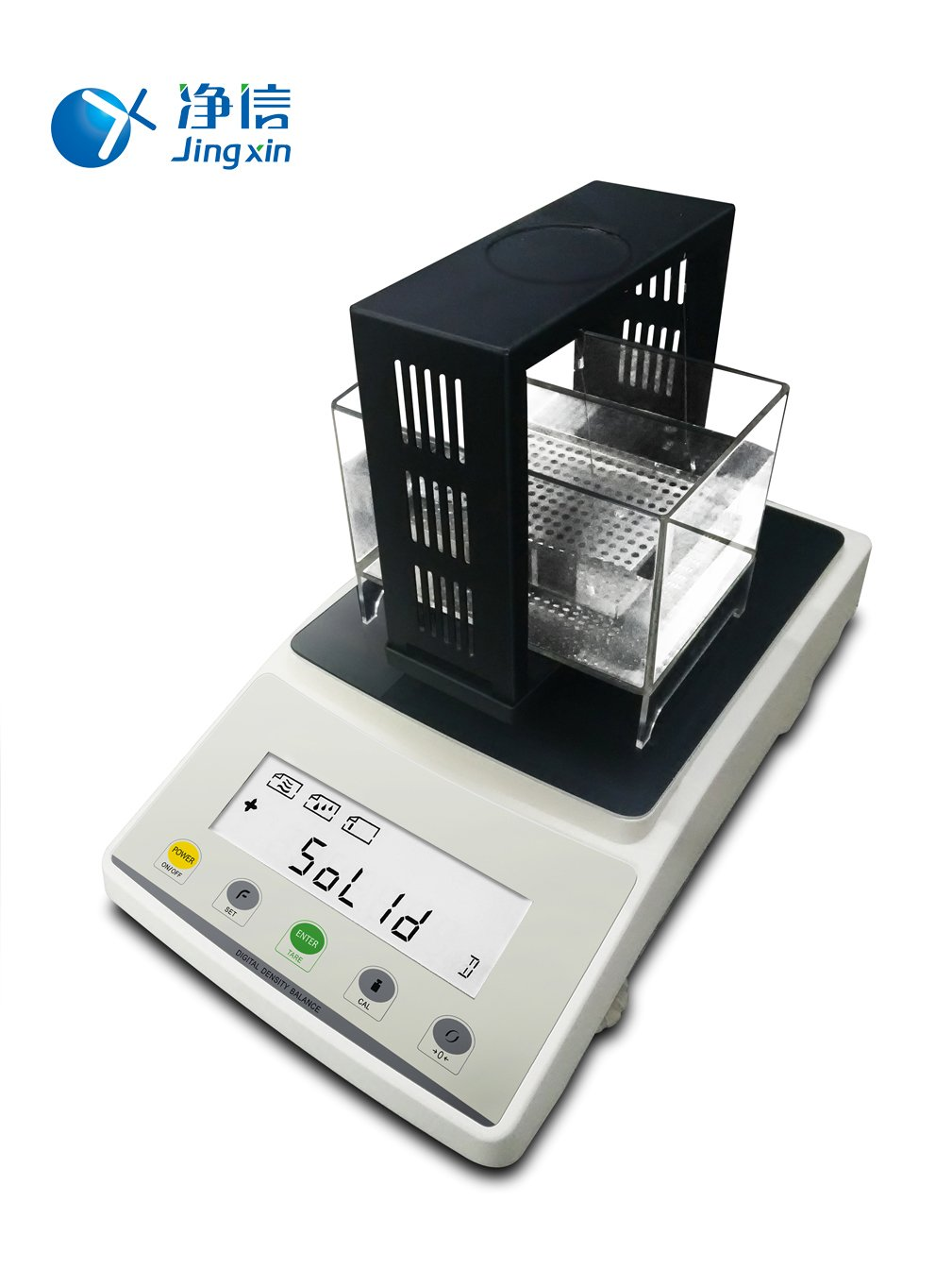 Jingxin Technology Laboratory Density Balance Instrument Scientific Density Gravity Meter Balance 210g/1mg Equipment JA203M