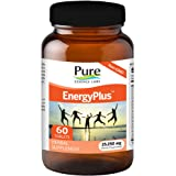 Pure Essence Labs EnergyPlus - Clean, Lasting Energy For Body, Mind And Spirit - 60 Tablets