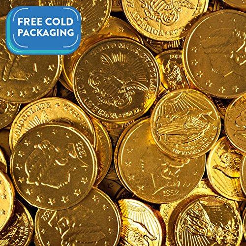 Bulk Milk Chocolate Madelaine Gold Coins (3lb)