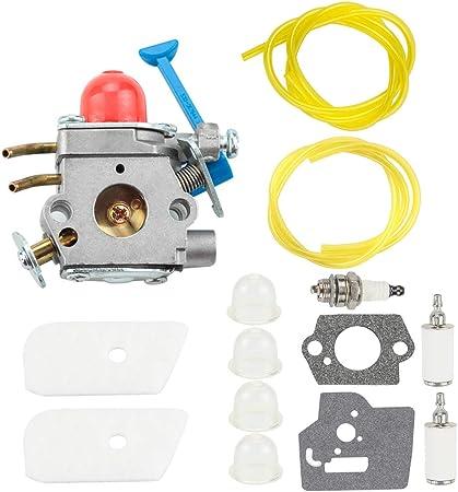 Carburetor for Husqvarna Trimmer 545081848 C1Q W40A 128C 128L 128R 128RJ Set