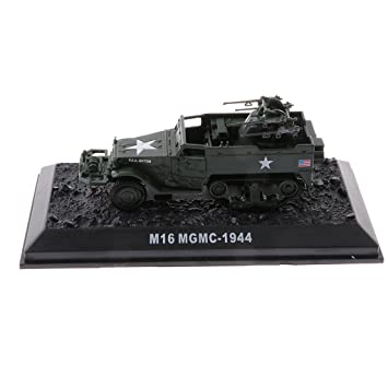 D DOLITY 1:72 Escala Figura Realista Juguete de Vehículo Militar Maqueta de Tanque en Miniatura Decoración para Hogar