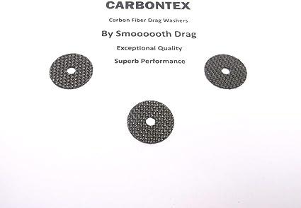 3 Smooth Drag Carbontex Drag Washers #SDS78 SHIMANO REEL PART Sustain 2500FG