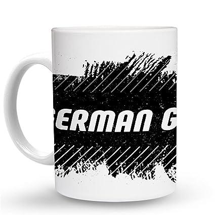 com makoroni german girl mug oz unique coffee mug