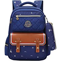KELUOSI Sac a Dos Fille Ecole Primaire Sac Bandouliere Enfant Garcon Fourniture Scolaire College