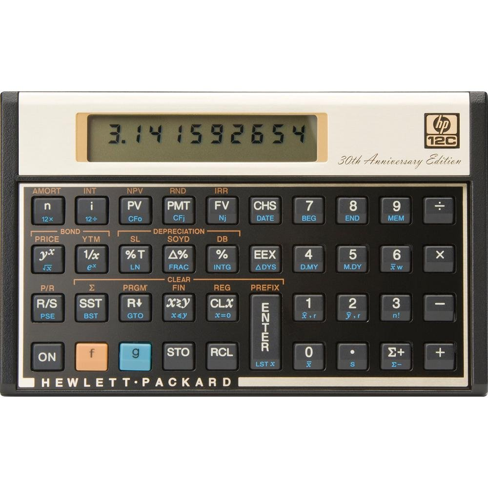 Business & Industrial Rare Vintage Hp 12c Calculator Hp12c