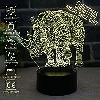 Nightlight, 3D visualization Illusion Multi-colored...