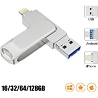 USB Flash Drive, Maifeituo Pen Drive for iPhone External Storage Memory Stick Compatible with iPad iOS MacBook (64GB)