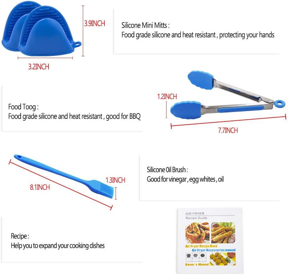 Kitchen & Dining Deep Fryers ghdonat.com Air Fryer Accessories 8 ...