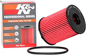 K&N Premium Oil Filter: Designed to Protect your Engine: Fits Select FIAT, JEEP, DODGE Vehicle Models (See Product Description for Complete Fitment Information) PS-7041