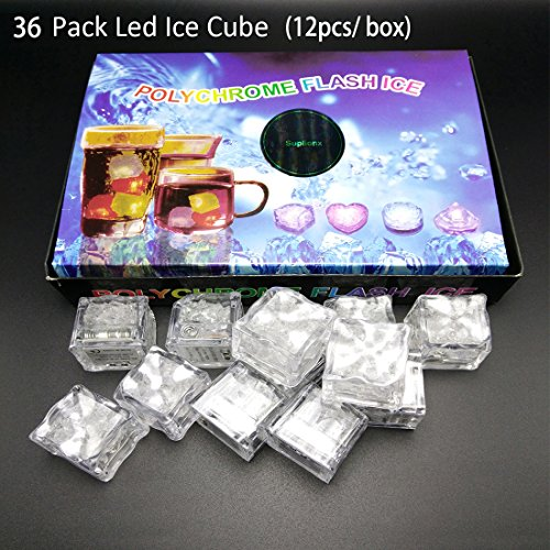 36 PCS IPX7 Waterproof Led Lighting Flashing Multi-Color