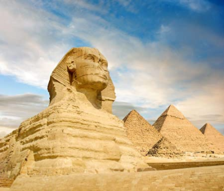Great Sphinx//Pyramid 24x36 inch rolled wall Poster