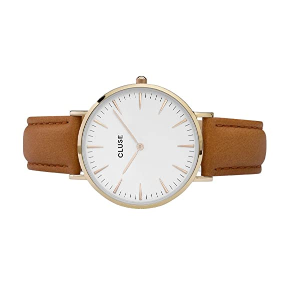 Watch Cluse La Bohème Gold White / Caramel CL18409