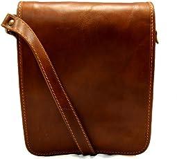 Bolso de cuero bandolera de piel cartero miel de hombre de mujer de cuero bolso de piel bolso de espalda bolso de piel messenger