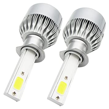 2* H1 LED Faro Bombillas Alquiler de Luces, NuoYo LED Bombillas para Faros Delanteros