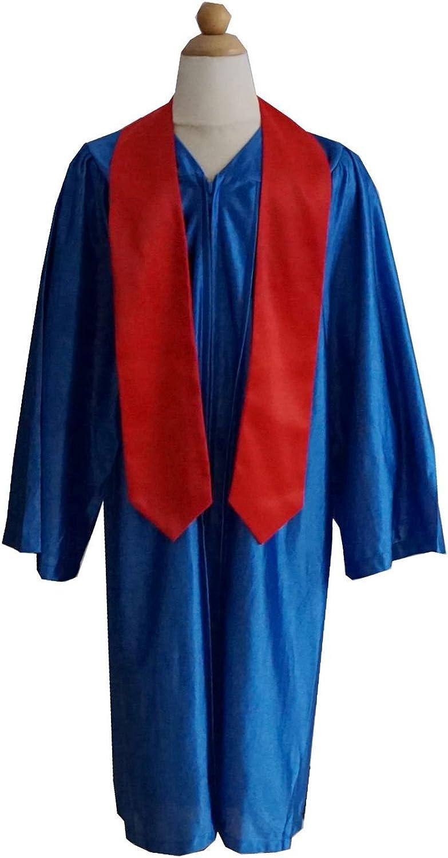 Grad Days Unisex Kindergarten Plain Graduation Stole 40 Long