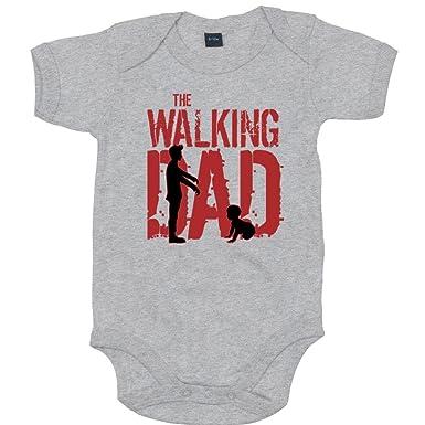 Vater TV-Serien |/Zombie | Baby Shirt Happenz The Walking Dad Babybib