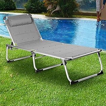 chaise longue travel campart amazon