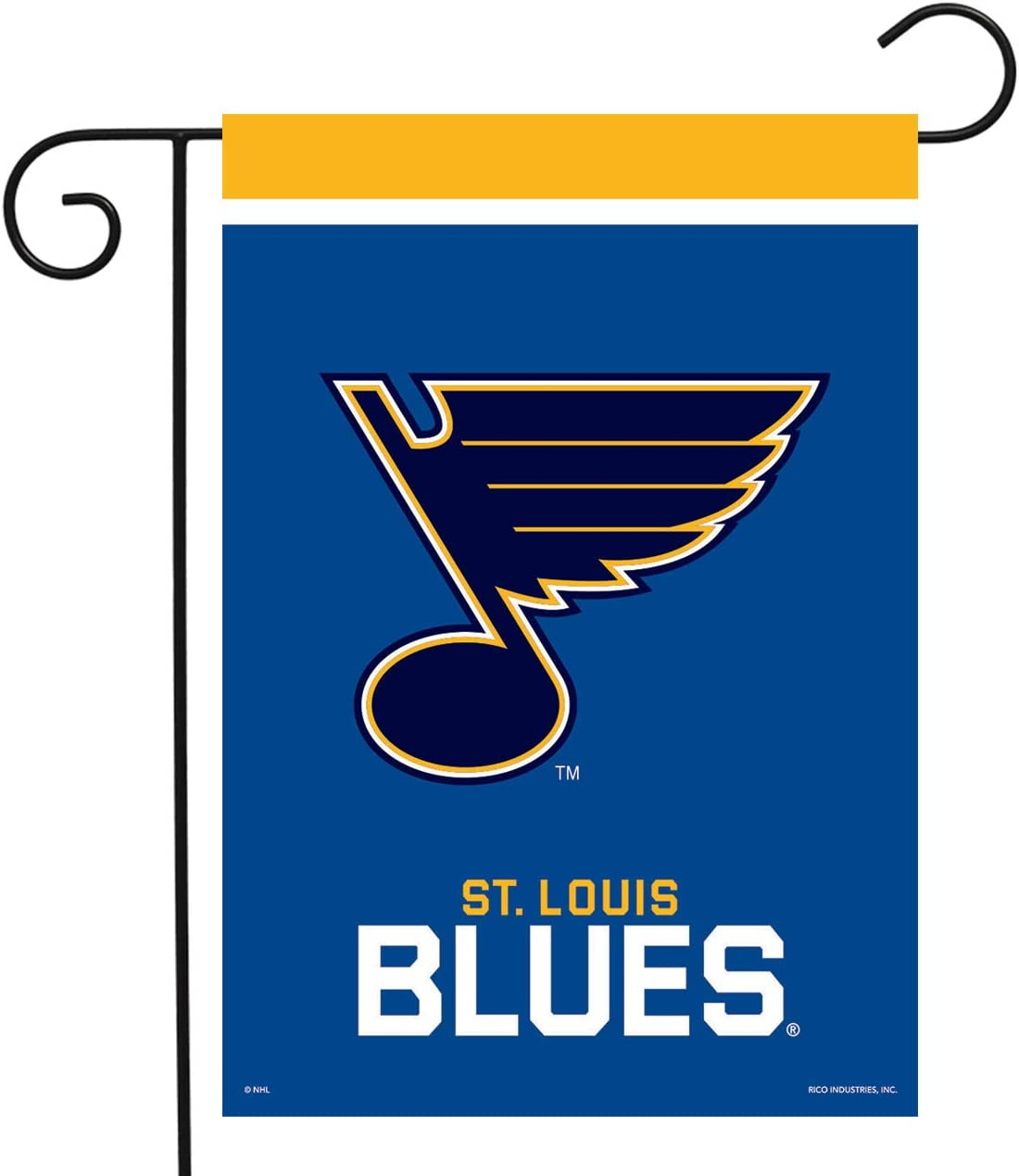 Sparo St. Louis Blues Garden Flag Hockey Licensed 12.5