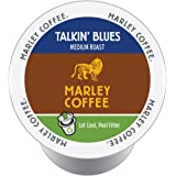 Marley Coffee, Talkin' Blues, 100% Jamaica Blue Mountain, Medium Roast, 24 Single Serve RealCups